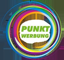 Logo Punktwerbung – Werbewerkstatt in Berlin-Köpenick